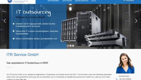 ITR Service GmbH Website